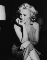 Редки снимки на Мерилин Монро