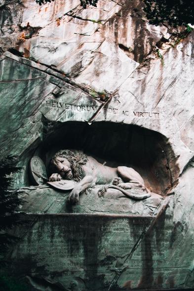 Умиращият лъв
