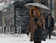 Този следобед в София се очаква да падне първият сняг