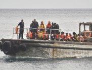 През май няма нито един случай на бежанци-удавници в Егейско море