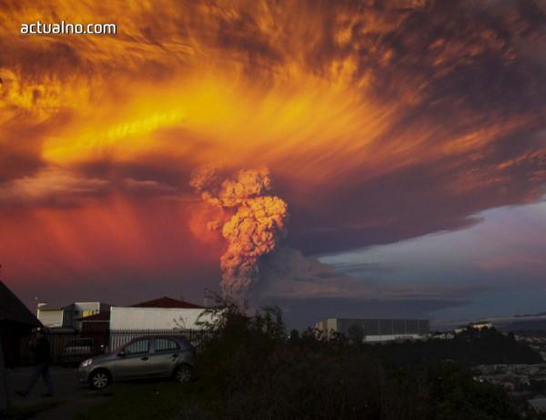 photo of Изригващ вулкан глътна камера, но тя успя да запише всичко (ВИДЕО)