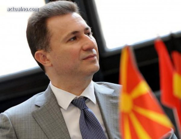 photo of Груевски поиска от Заев съдържанието на договора за добросъседство
