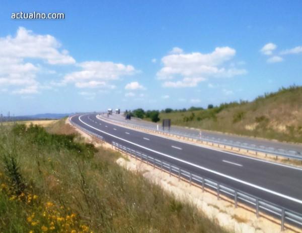 """photo of Блокирано е част от движението по магистрала """"Марица"""""""