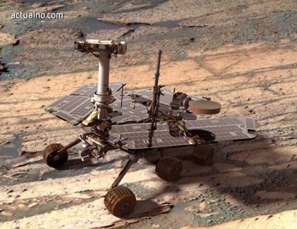 photo of Opportunity е в опасност след пясъчна буря на Марс