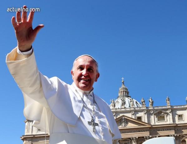photo of Папа Франциск вероятно ще посети България през 2019 г.