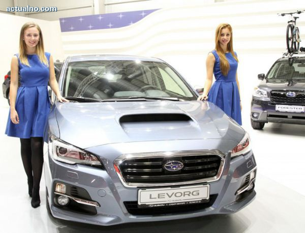 photo of Levorg е акцентът на щанда на Subaru
