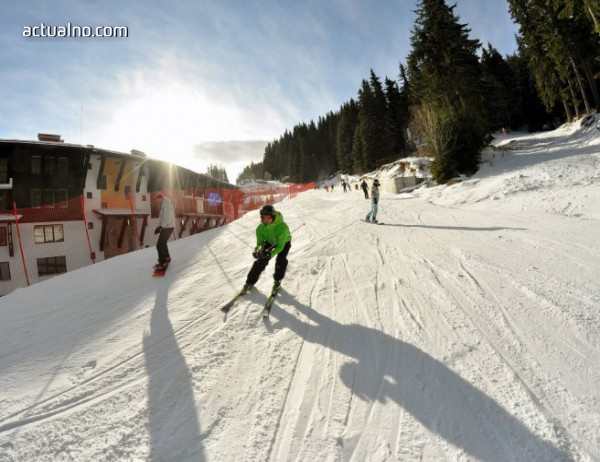 photo of Ивановден със ски и сноуборд на Мечи чал