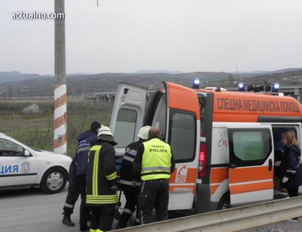 photo of Жена загина на място, докато пресичала неправилно, на моста до град Баня
