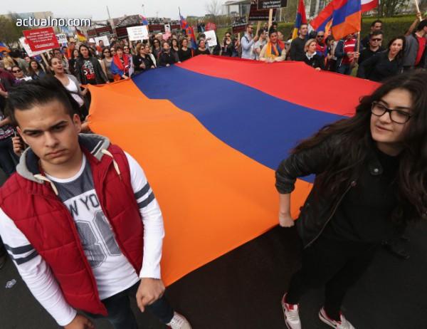 photo of Протестиращи блокираха центъра на Ереван