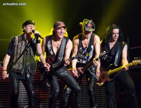 photo of Двете двойни покани за концерта на Scorpions отиват при...