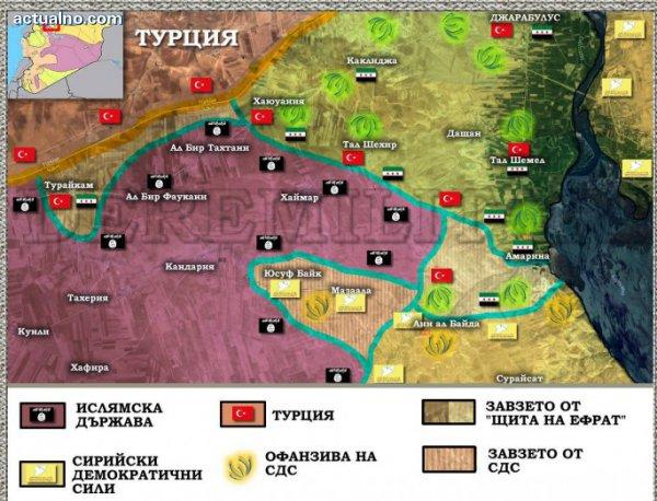 """photo of """"Щитът на Ефрат"""": Дипломатически дилеми и турски танкове в Сирия"""