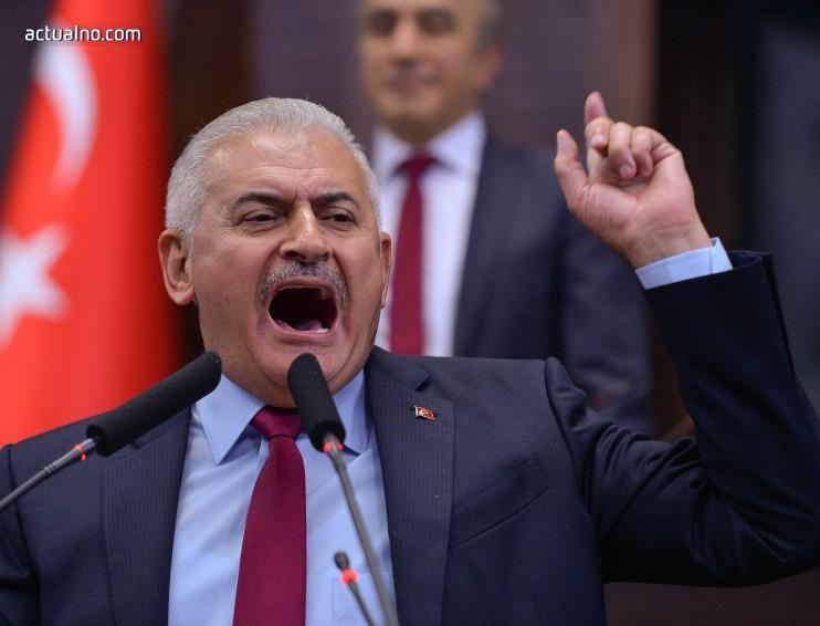 photo of Турският премиер с пропаганда към младежите преди референдума в страната