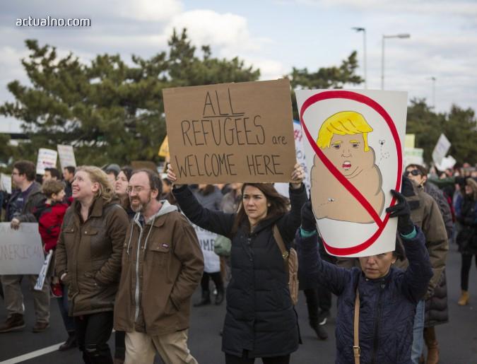photo of Ресторантска стачка в САЩ в подкрепа на мигрантите