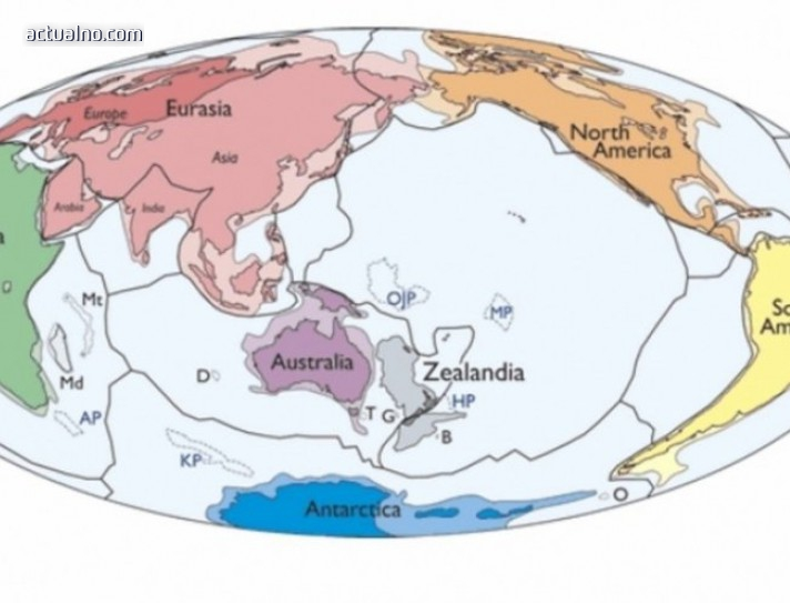 photo of СЕНЗАЦИОННО! Откриха нов континент с площ около 5 милиона кв.км
