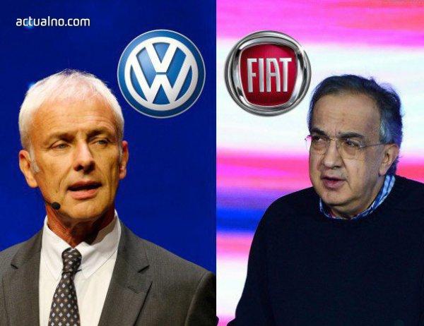 photo of Volkswagen и Fiat-Chrysler може да се обединят