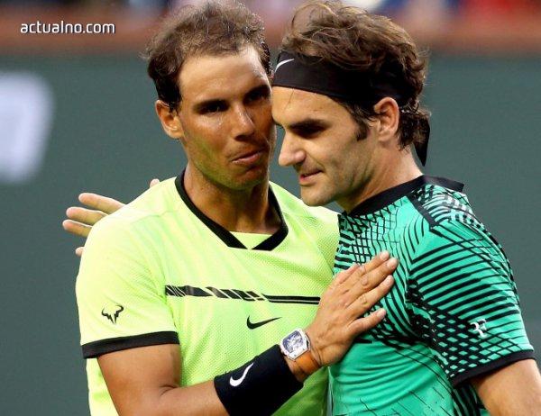 photo of Федерер с феноменален мач срещу Кирьос, среща Надал на финала в Маями (ВИДЕО)