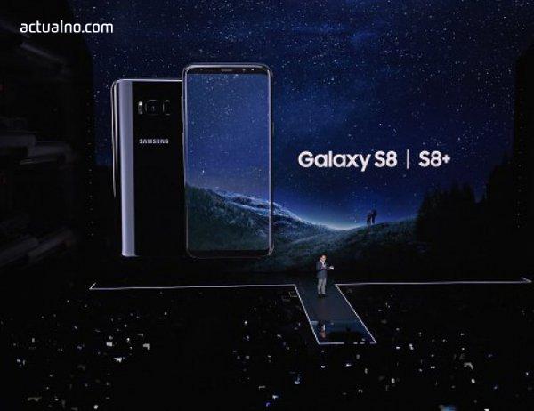 photo of Новият Samsung Galaxy S8 бе представен пред света (ВИДЕО)
