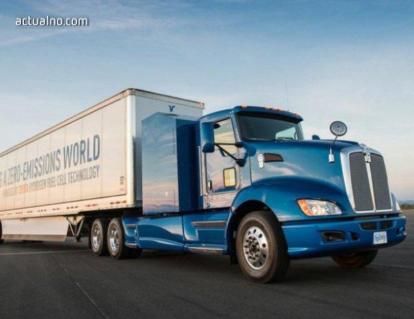 photo of Toyota пусна и камиони на водород