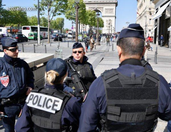 photo of Провежда се полицейска операция в района на Шанз-Елизе