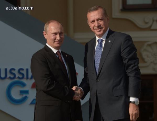 photo of Путин и Ердоган се споразумяха по редица въпроси от двустранен и международен характер
