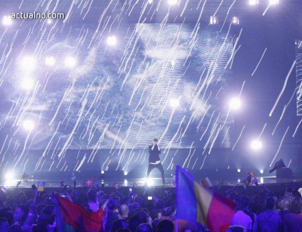 """photo of Вижте изпълнението на Кристиан на големия финал на """"Евровизия"""" (Видео)"""