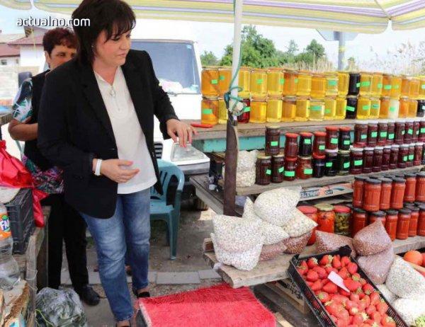 photo of Нинова иска по-големи субсидии за производителите на плодове и зеленчуци
