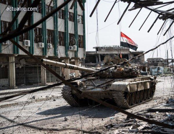 photo of Иракската армия влезе в стария град на Мосул