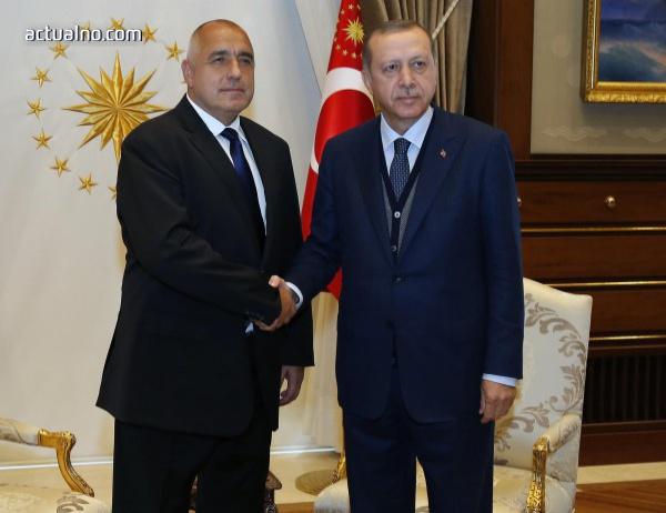 photo of Борисов и Ердоган проведоха телефонен разговор