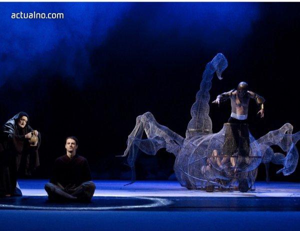 """photo of """"Последното изкушение"""" - Вертикален спектакъл за катарзиса и смисъла отвъд греховете на страстите"""