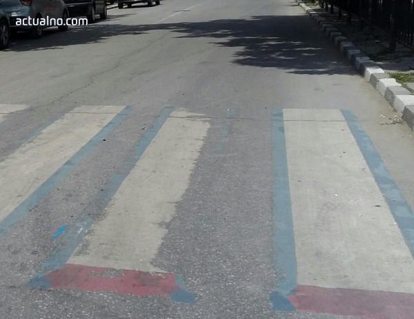 photo of Подновяват пътната маркировка в Шумен