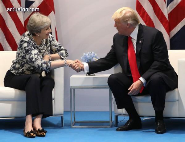 photo of Тръмп и Мей ще работят върху отговор на химическите атаки в Сирия