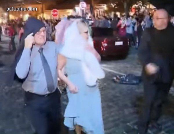 photo of Замерват бразилски политик с яйца на сватбата ѝ (ВИДЕО)