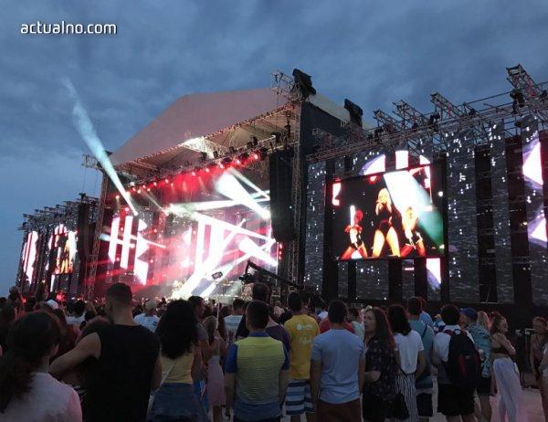 photo of Actualno на живо от MTV Presents Varna Beach