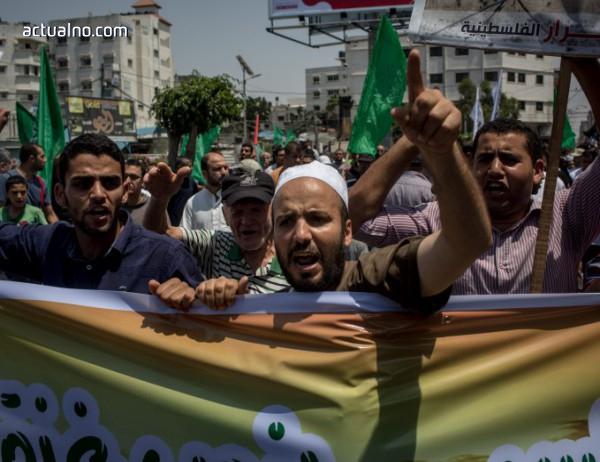 photo of Избухнаха сблъсъци между израелци и палестинци на Западния бряг