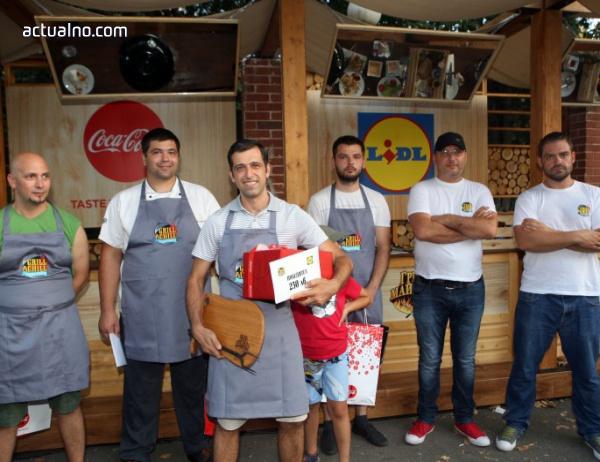 photo of Мартин Стоянов спечели кулинарната битка на LIDL и Coca-Cola в Бургас
