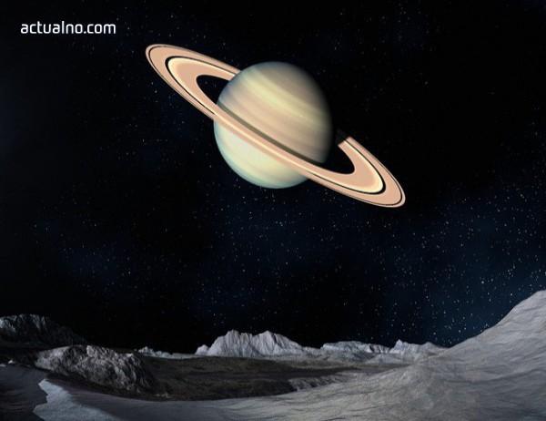 photo of Имало ли е живот на спътник на Сатурн?
