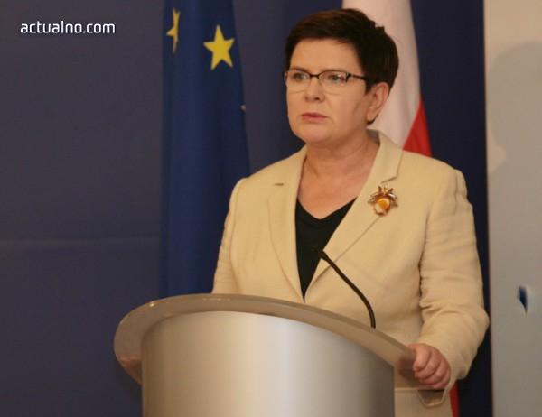 photo of Беата Шидло вече не е премиер на Полша