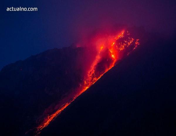 photo of Невероятната красота на изригващия вулкан в Хаваи (ВИДЕО)