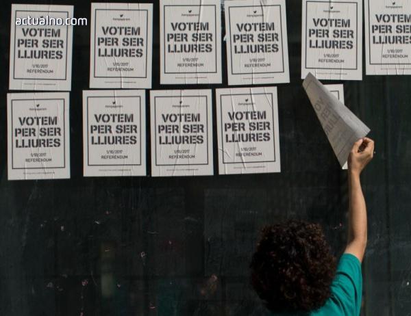 photo of Стрелба и ранени до избирателна секция в Каталуния