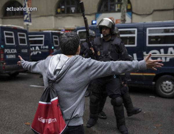 photo of Напрежение в Барселона заради шествие с нацистки привкус (СНИМКИ)