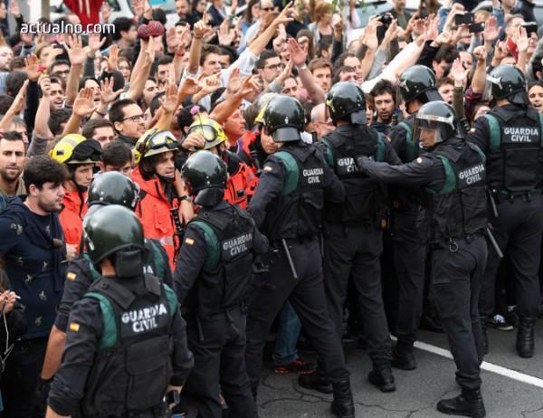 photo of Хиляди каталунци протестираха в подкрепа на независимостта