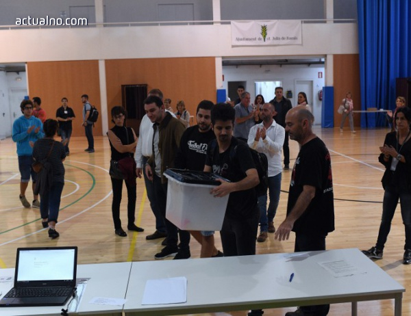 photo of Над 300 секции са били затворени от полицията в Каталуния