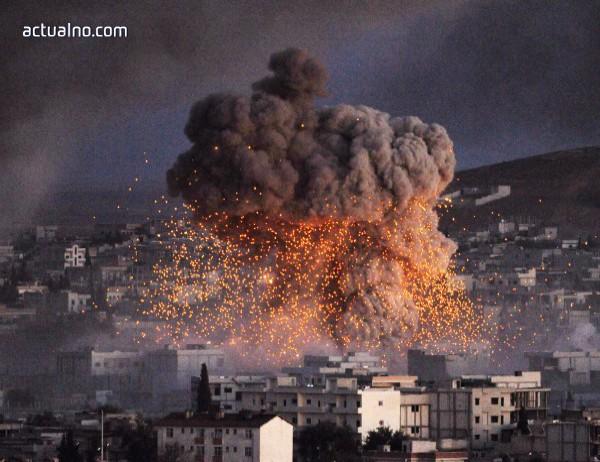 """Унищожиха команден център на """"Ислямска държава"""" в Сирия"""