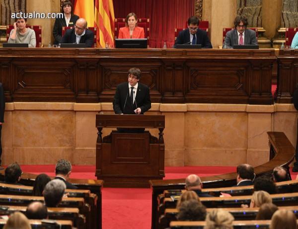 """photo of Пучдемон обяви план за създаване на """"двойно правителство"""" на Каталуния"""