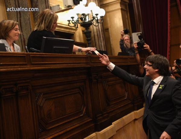 photo of Правителството и парламентът на Каталуния с обвинение за държавен преврат