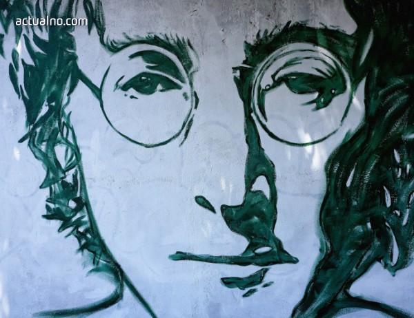photo of Роден е Джон Ленън