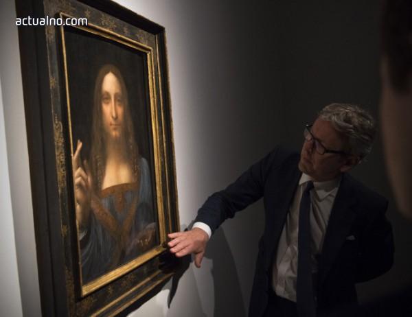 """photo of Копия на """"Спасителят на света"""" на Леонардо все по-търсени на пазара"""