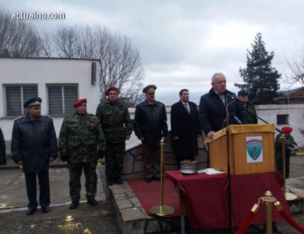 photo of С церемония батальонът в Смолян стана полк