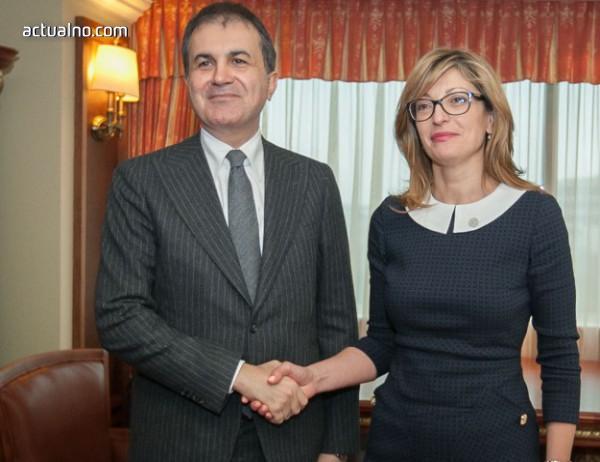 photo of Захариева: Турция може да разчита на искрената ни подкрепа