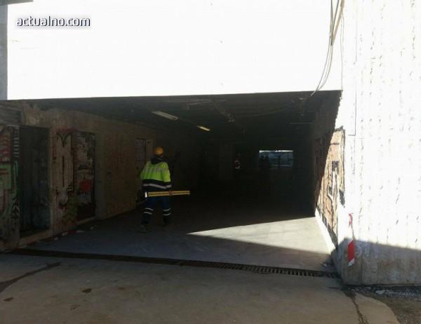 """photo of Авария при строежа на метрото, eвакуираха подлез на бул. """"България"""""""